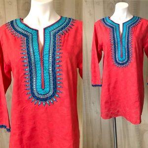 Sulu tunic embellished size 12